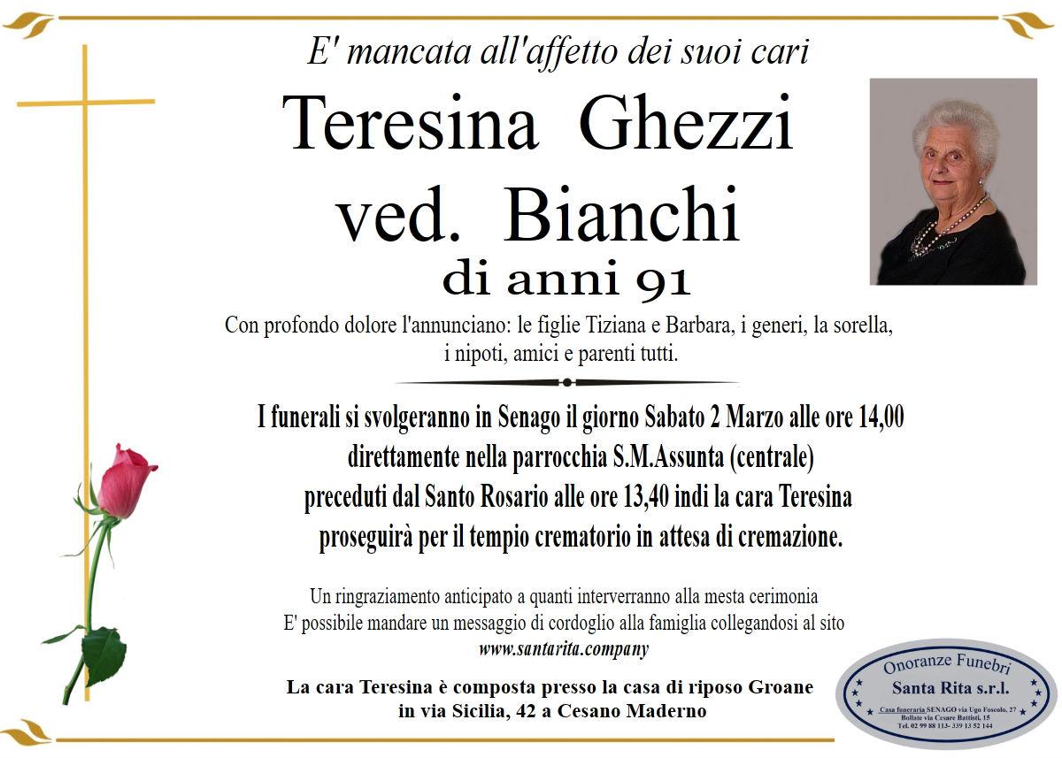 TERESINA GHEZZI