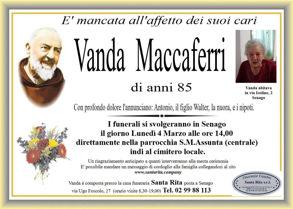 VANDA MACCAFERRI