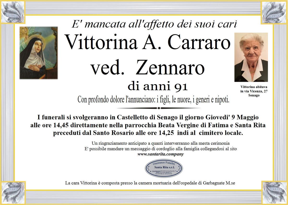 VITTORINA A. CARRARO