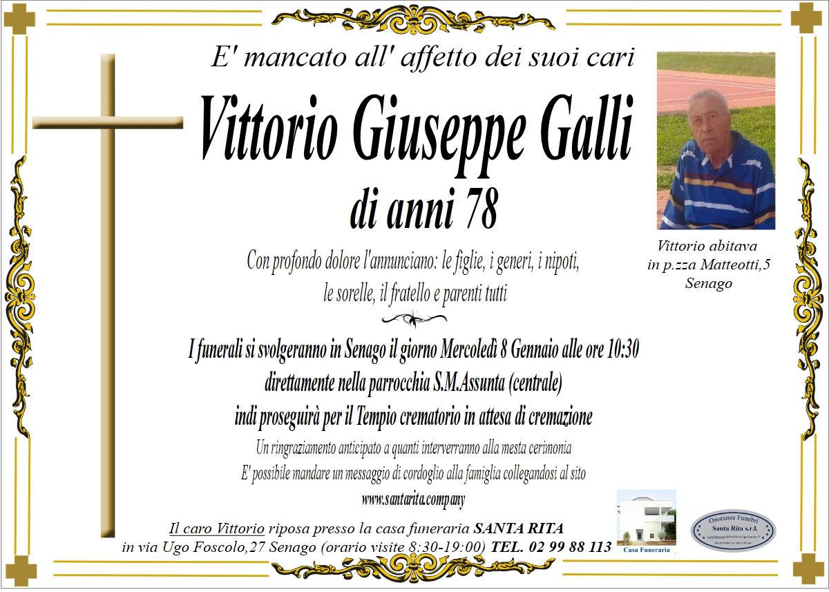 VITTORIO GIUSEPPE GALLI